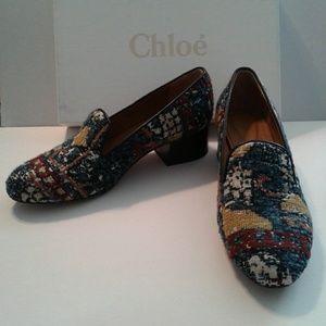 Chloe Kilim shoe